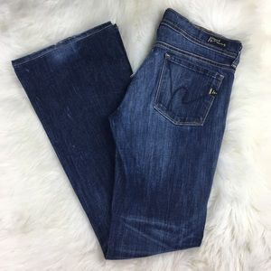 Citizens of Humanity Ingrid Low Flare Jeans 28